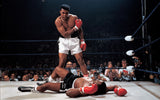 Muhammad Ali - Sonny Liston ™ (Canvas)