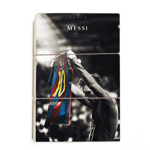 Lionel Messi - The Messiah ™ (Wood)