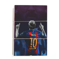 Lionel Messi - Numero Diez ™ (Wood)
