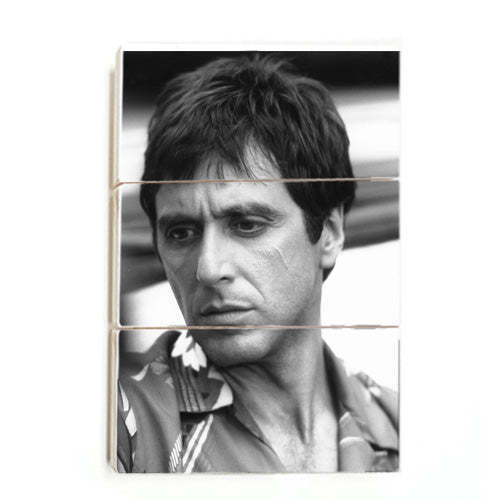 Scarface - Al Pacino (Wood)