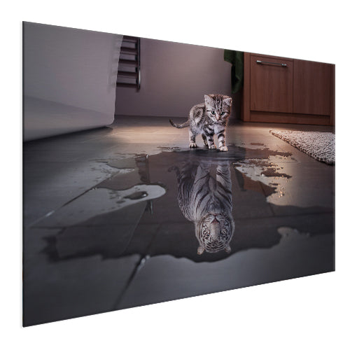 Tiger - The Big Cat (Aluminum)