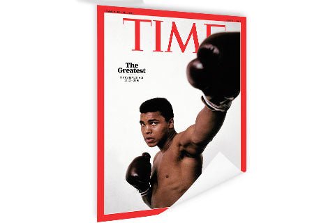 Muhammad Ali - Time ™ (Poster)