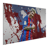 Lionel Messi -  Colores De Barcelona ™ (Aluminum)