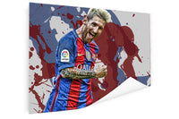 Lionel Messi -  Colores De Barcelona ™ (Poster)