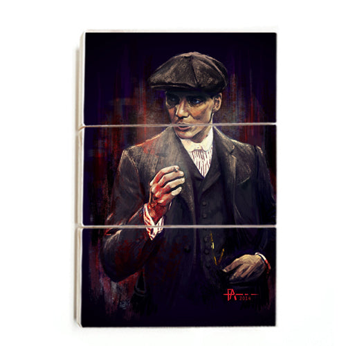 Peaky Blinders - Tommy Art ™ (Wood)