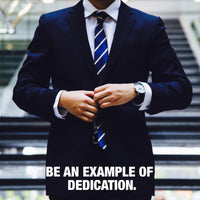 Business man - Example Of Dedication (Plexiglass)