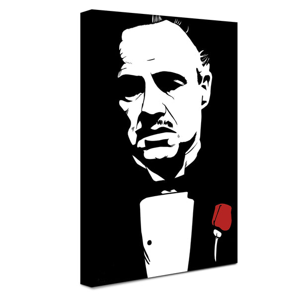 The Godfather -  Abbozzo  ™ (Canvas)