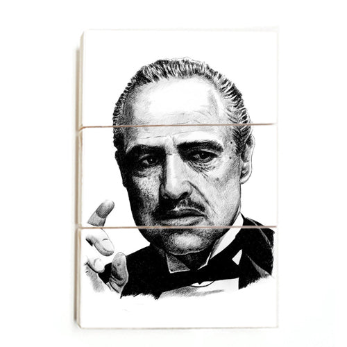 The Godfather - Immagine ™ (Wood)