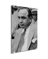 Al Capone - The Real Scarface ™ (Plexiglass)