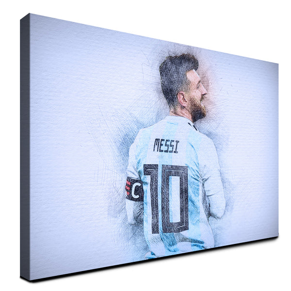 Lionel Messi - Argentina ™ (Canvas)