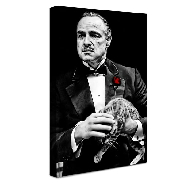 Godfather - Aspetto Di Potere ™ (Canvas)