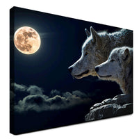 Wolf - Blood Moon (Canvas)