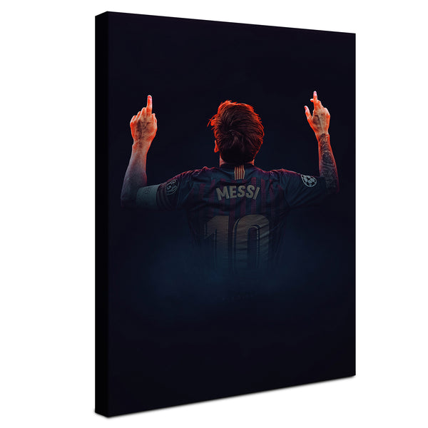 Lionel Messi -  Celebracion ™ (Canvas)