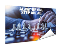 Chess - Be One Step Ahead (Poster)