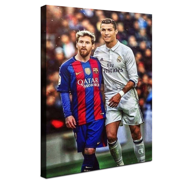 Ronaldo & Messi - El Clasico ™ (Canvas)