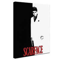 Scarface - Movie Cover ™ (Canvas)