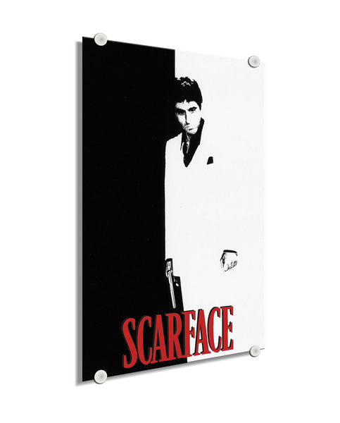 Scarface - Movie Cover ™ (Plexiglass)