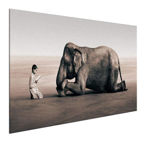 Elephant - The Sweet Giant (Aluminum)