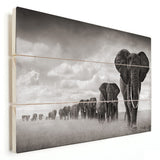 Elephant - Big Herd (Wood)