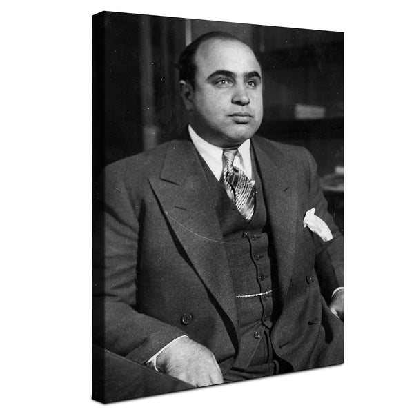 Al Capone - The Gangster ™ (Canvas)