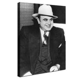 Al Capone - Gangster Smile ™ (Canvas)