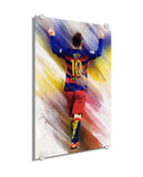 Lionel Messi -  Inolvidable ™ (Plexiglass)