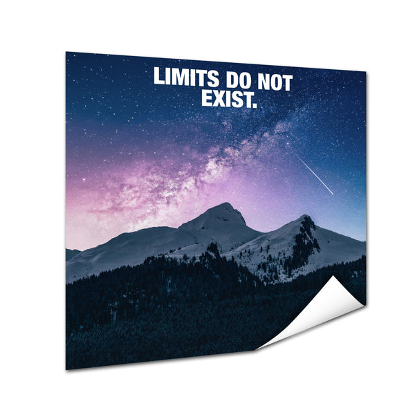 Mountain - Limits Do Not Exist (Poster)