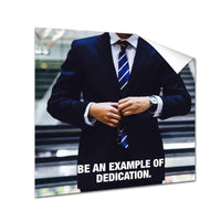 Business man - Example Of Dedication (Poster)