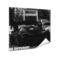 Mclaren - Be Different (Poster)