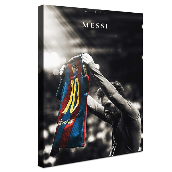 Lionel Messi - The Messiah ™ (Canvas)
