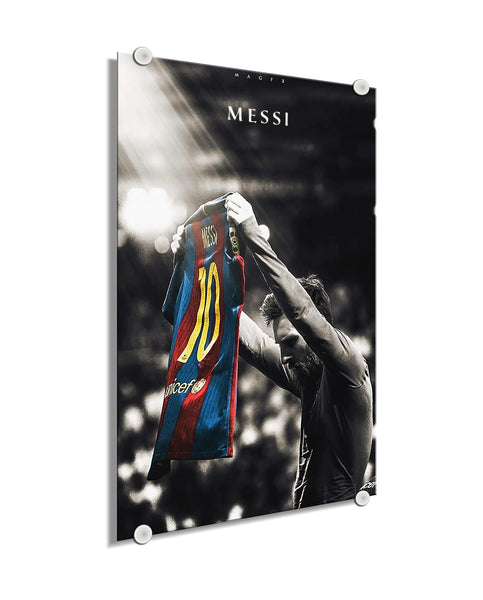 Lionel Messi - The Messiah ™ (Plexiglass)