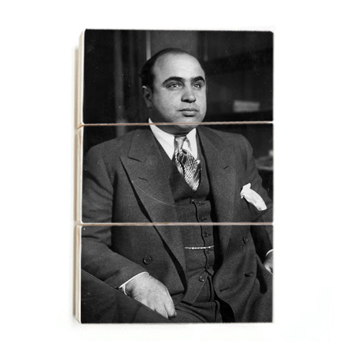 Al Capone - The Gangster ™ (Wood)