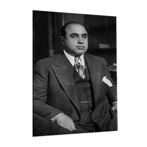 Al Capone - The Gangster ™ (Aluminum)