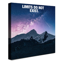 Mountain - Limits Do Not Exist (Canvas)