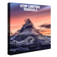 Mountain - Stop Limiting Yourself (Canvas)