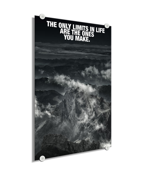 Mountain - The Only Limits You Make (Plexiglass)