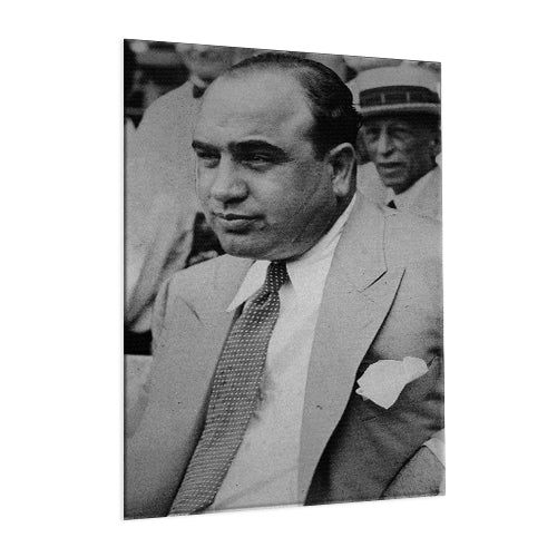 Al Capone - The Real Scarface ™ (Aluminum)