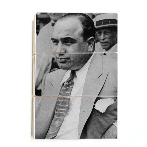 Al Capone - The Real Scarface ™ (Wood)