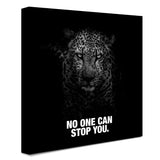 Panther - No One Can Stop You (Canvas)