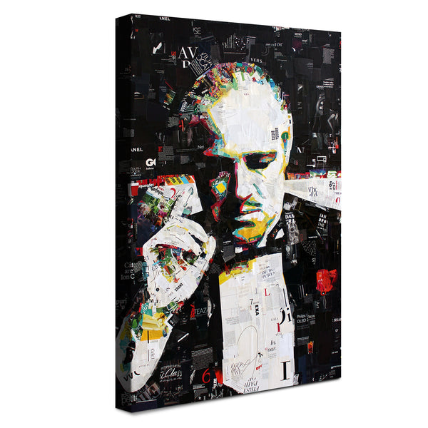 The Godfather -  Opere D'arte ™ (Canvas)