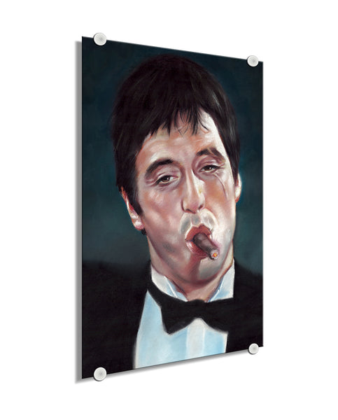 Scarface - Painting ™ (Plexiglass)