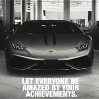Lamborghini - Let Everyone Be Amazed (Plexiglass)