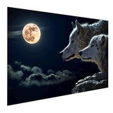 Wolf - Blood Moon (Aluminum)