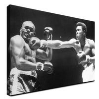 Muhammad Ali - The Punch ™ (Canvas)