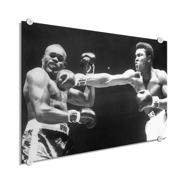 Muhammad Ali - The Punch ™ (Plexiglass)