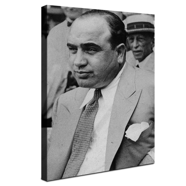 Al Capone - The Real Scarface ™ (Canvas)