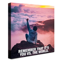 Sky - You vs The World (Canvas)