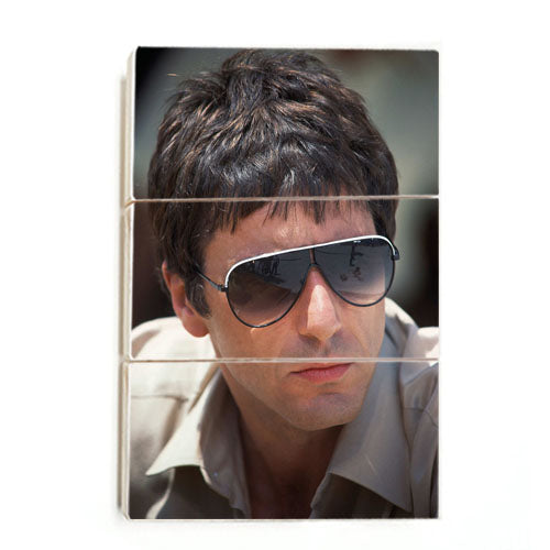 Scarface- Young Pacino (Wood)