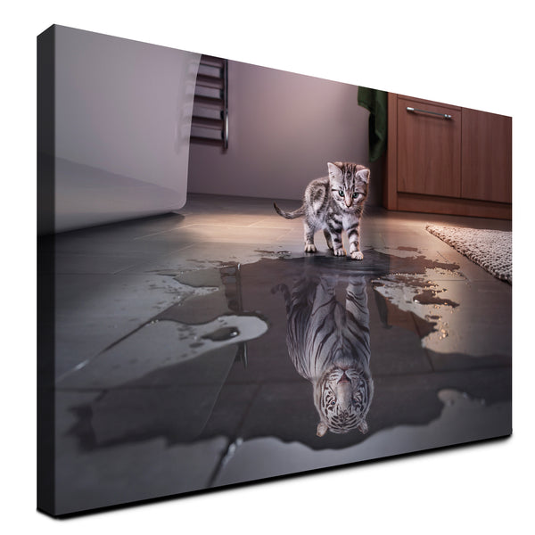 Tiger - The Big Cat (Canvas)