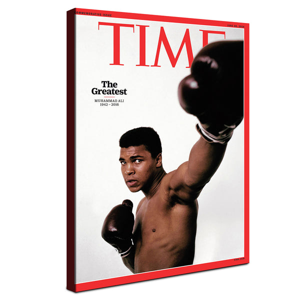 Muhammad Ali - Time ™ (Canvas)